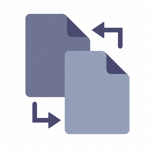 copy, creation, file, sync icon