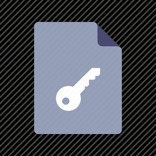 access, file, key, keyword icon