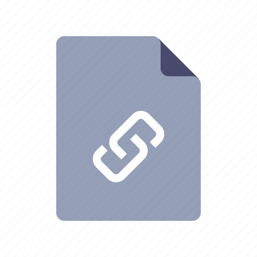 document, file, link, url icon