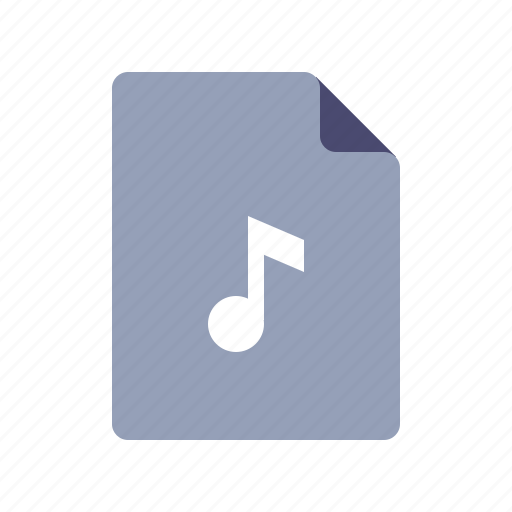 Audio, file, mp3, music icon - Download on Iconfinder
