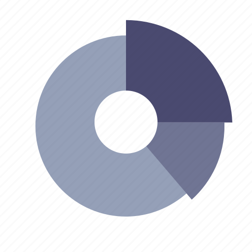 graph, percentage, pie chart, sales icon