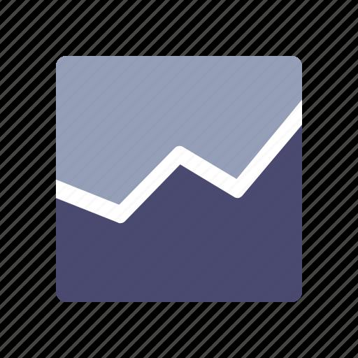 graph, income, sales, statistics icon