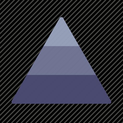 hierarchy, masloy, pyramids, triangle icon