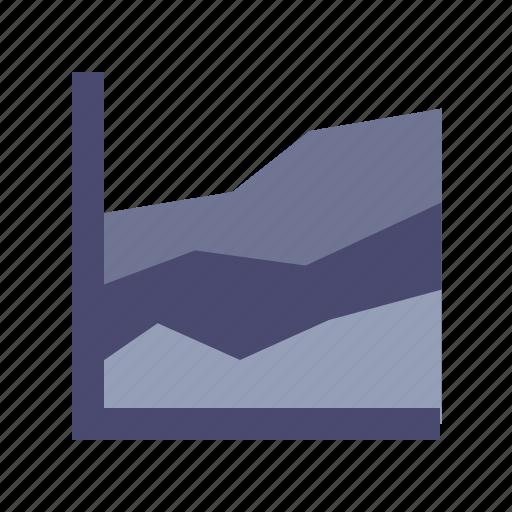 analysis, diagram, growth, impressions icon