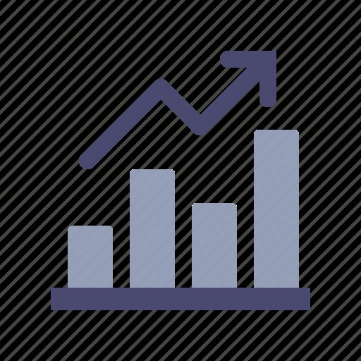 analytics, finance, reports, stabilization icon