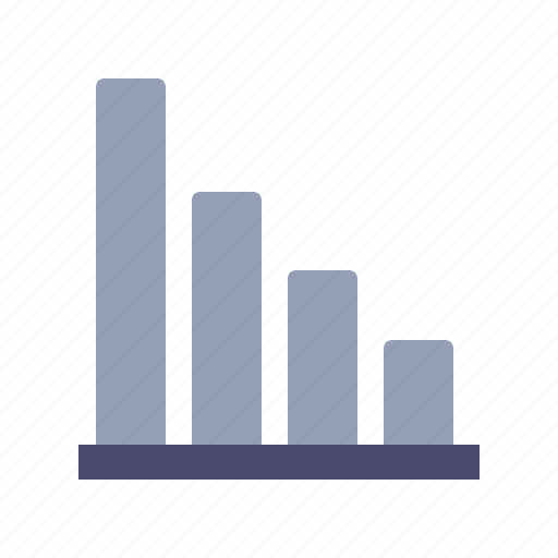 diagram, down, graph, loss icon