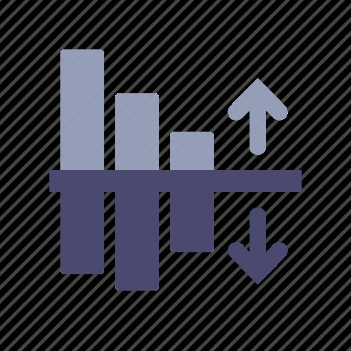 chart, expences, income, profit icon