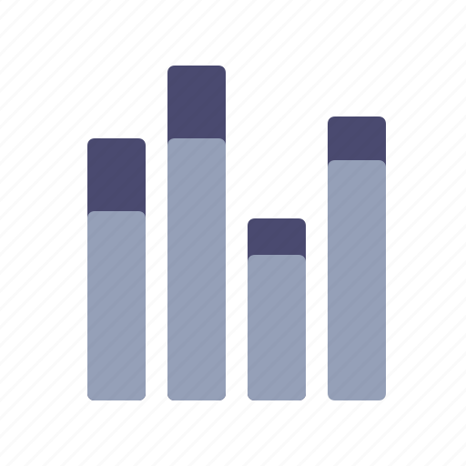 chart, daily, monthly, statistics icon