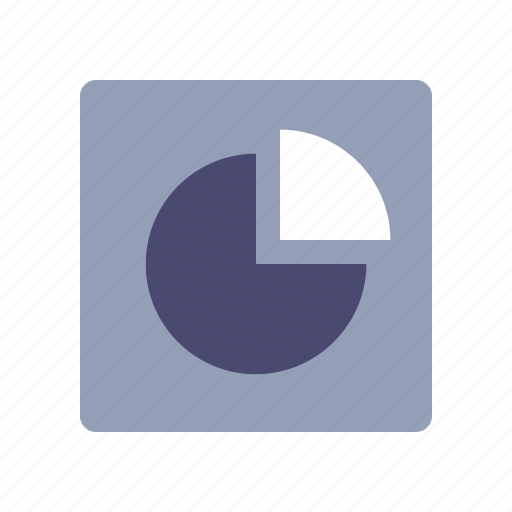 analytics, graph, pie chart, sales report icon