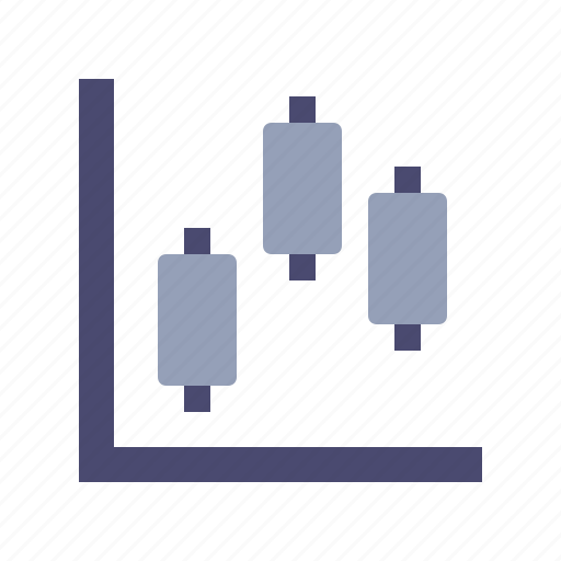 axis, chart, graph, intervals icon
