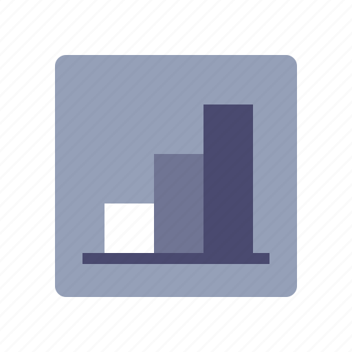 analytics, bar, chart, statistics icon