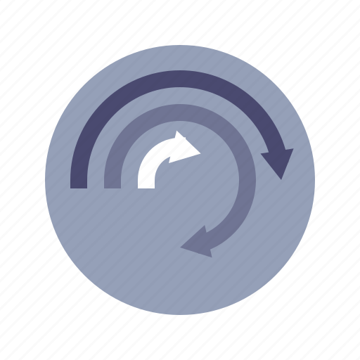 circle, comparison, diagram, statistics icon