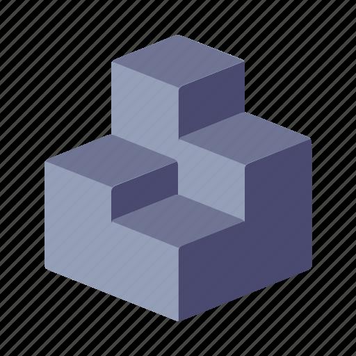 analytics, infographic, isometric, isometry icon