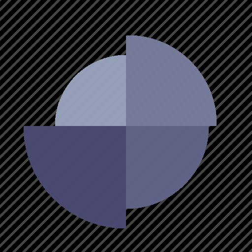 analytics, audit, graph, pie chart icon