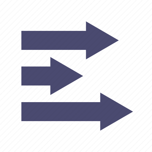 arrows, direction, move, right icon