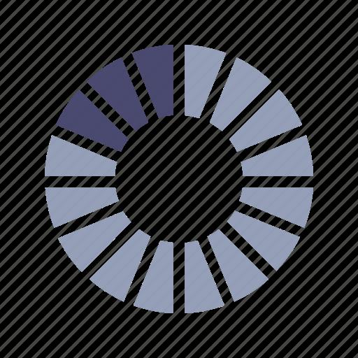 chart, percentage, pie, segment icon