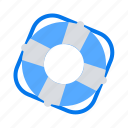 buoy, life saver, safety icon