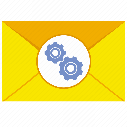 letter, mail, mailbox, option, settings icon