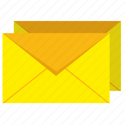 letters, mail, mailbox icon