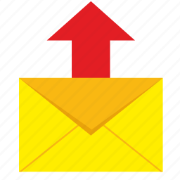 letter, mail, mailbox, send icon