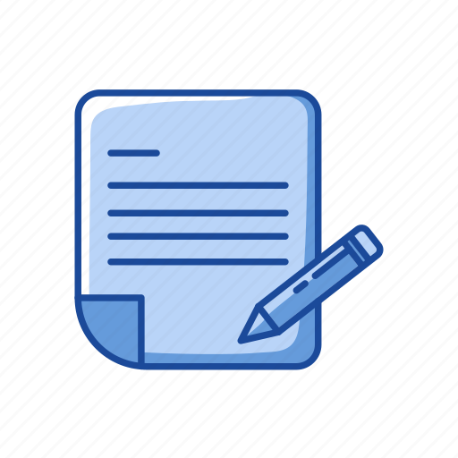 compose letter, pencil, read, write icon