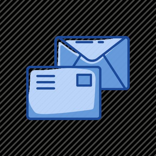 communication, envelope, letters, read icon