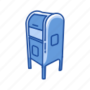 close mailbox, communication, incoming mail, mailbox icon