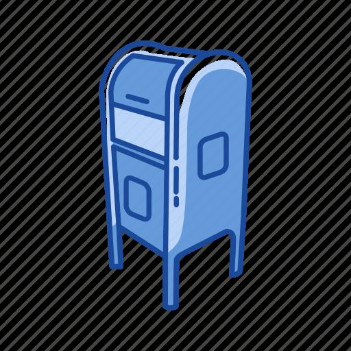 close mailbox, communication, incoming mail, mailbox icon