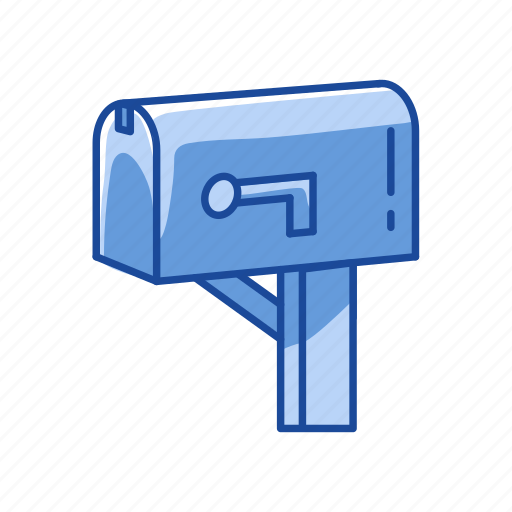 close mailbox, incoming mail, mail, mailbox icon