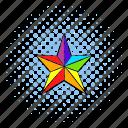 comics, gay, heart, lesbian, love, rainbow, star icon