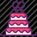 cake, lesbian, love, wedding