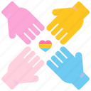 bisexual, community, hands, homosexual, lgbt, rights, transgender