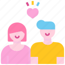 couple, lover, man, people, relationship, wedding, woman icon