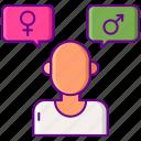sex, identity, gender icon
