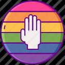 flag, homophobia, lgbt, rainbow icon