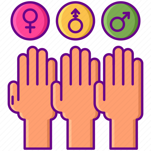 gender, sex, sexual orientation icon