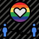 couple, heart, homosexual, lgbtq, love, romantic