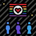 flag, identity, lgbtq, rainbow, symbolic