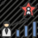 business, development, growth, star, success