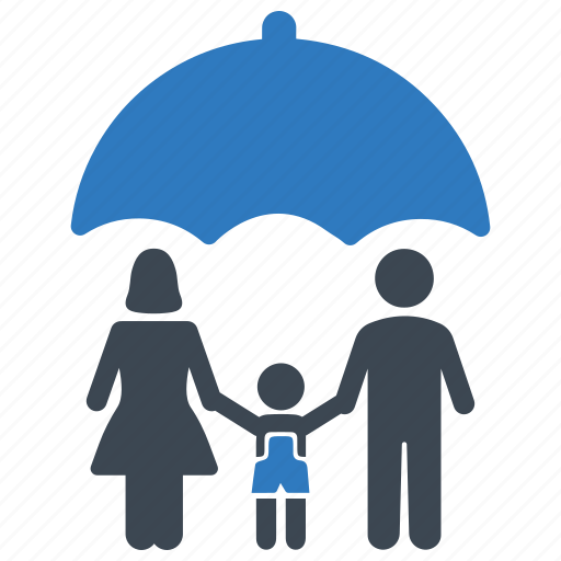 family, insurance, life, protection icon