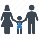 children, family, parents icon