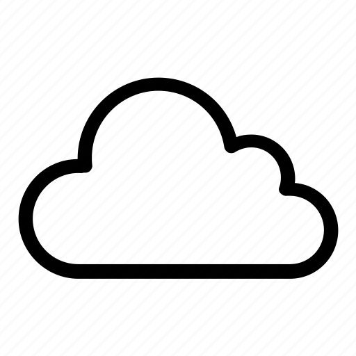 Cloud, shady, storage, weather icon - Download on Iconfinder