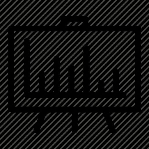 Analytics, graph, powerpoint, presentation, project, slides, statistics icon - Download on Iconfinder