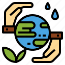 awareness, care, ecosystem, environmental, global, resources icon