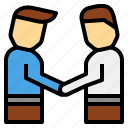 apology, collaboration, deal, interpersonal, respect, respectful, skill icon