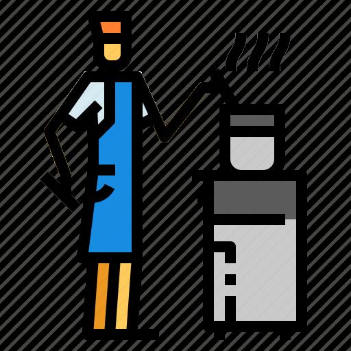 Chef, cooking, kitchen icon - Download on Iconfinder
