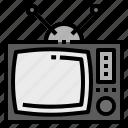 digital, television, tv icon