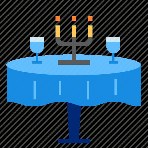 dinner, restaurant, wine icon