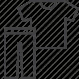 clothes, pants, shirt icon