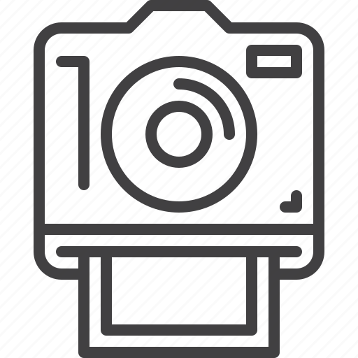 camera, instant, photo icon